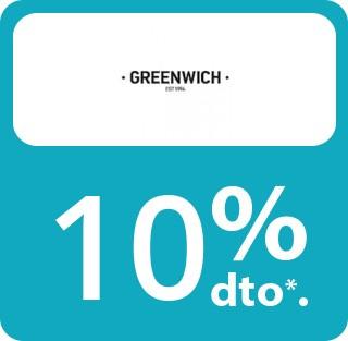En artículos Greenwich no rebajados