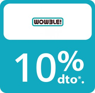 DESCUENTO DE 10%(En compras superiores de 5€)