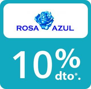 en compras superiores a 50€ en Rosa Azul