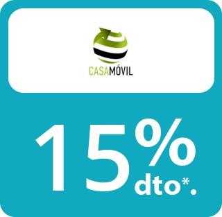 A partir de 20€ damos un 15% de descuento (excepto reparación, tarjeta de memoria, pen drive, celular)