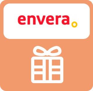 Imán o llavero gratis por compras superiores a 20€. Súbete al viaje de la vida en Envera Punto de inclusión. Hay un recuerdo para ti.