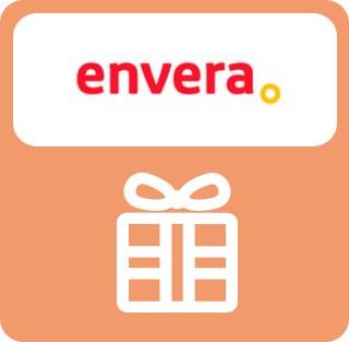 Imán o llavero gratis por compras superiores a 20€. Súbete al viaje de la vida en Envera Punto de inclusión. Hay un recuerdo para ti