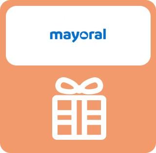 5€ de regalo por cada 75€ de compra usando la Tarjeta Amigos (gratuita) de Mayoral