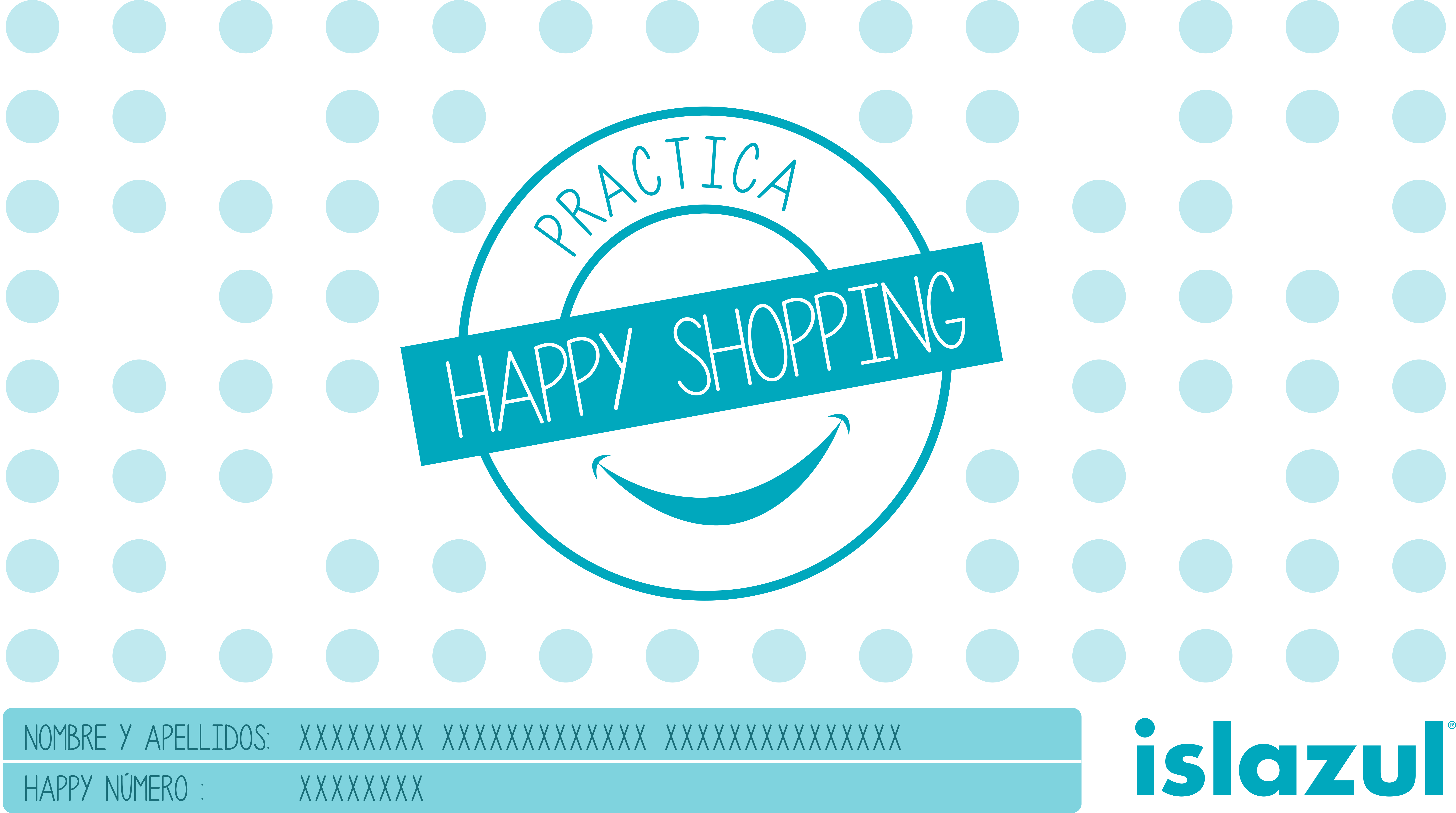 Tarjeta Happy shopping OK