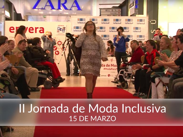 II Jornada de Moda Inclusiva organizada por Envera e Islazul