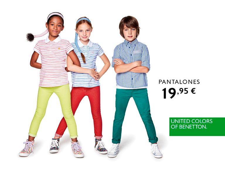 Pantalones de colores en United Colors of Benetton