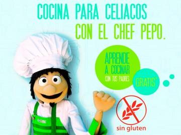 Cocina para celiacos con el Chef Pepo