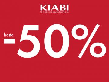 Rebajas fase 1, hasta 50% de descuento en Kiabi