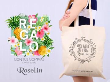 Llévate la ecobag del verano con tus compras en Roselin