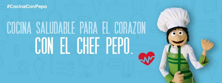 Cocina saludable con el Chef Pepo