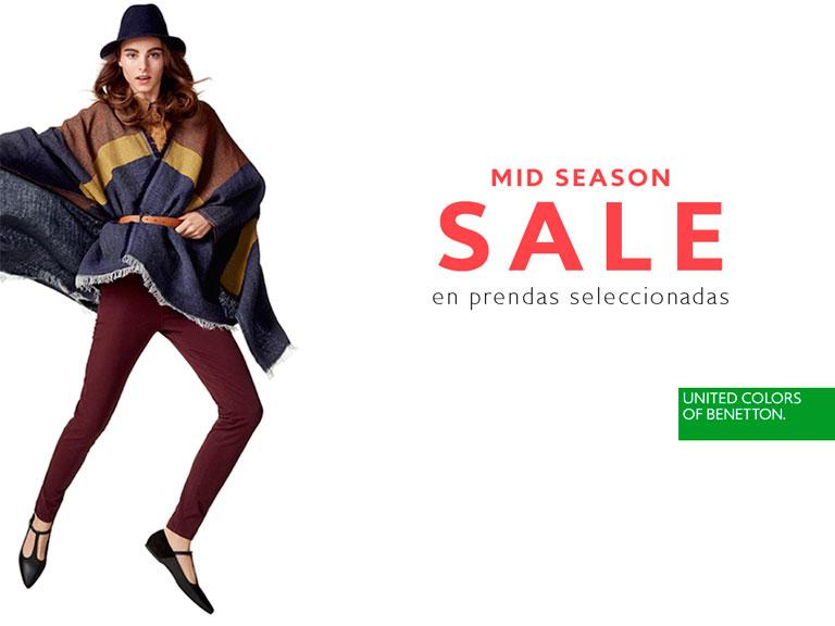 Mid Season Sale en United Colors of Benetton