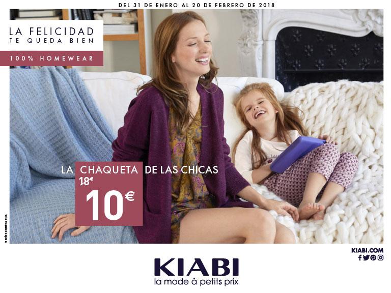 100% homewear en Kiabi