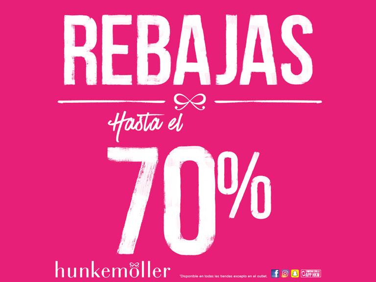 Rebajas hasta el 70% de descuento en Hunkemoller