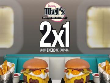 2×1 en Tommy Mel's