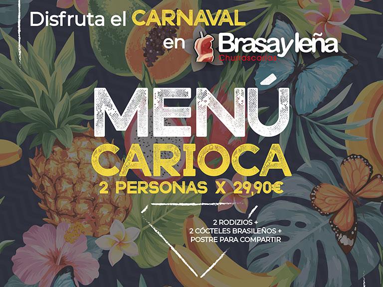 Disfruta el Carnaval en Brasayleña