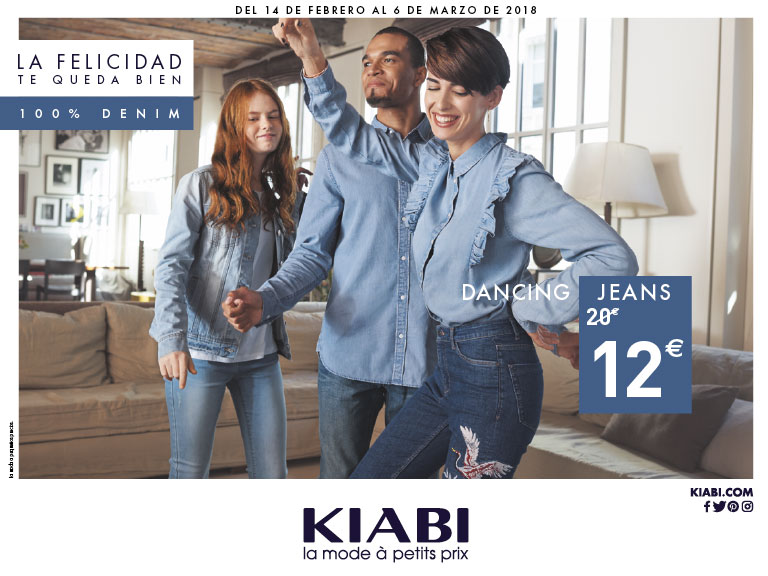 "E4 ""DENIM"" en Kiabi"
