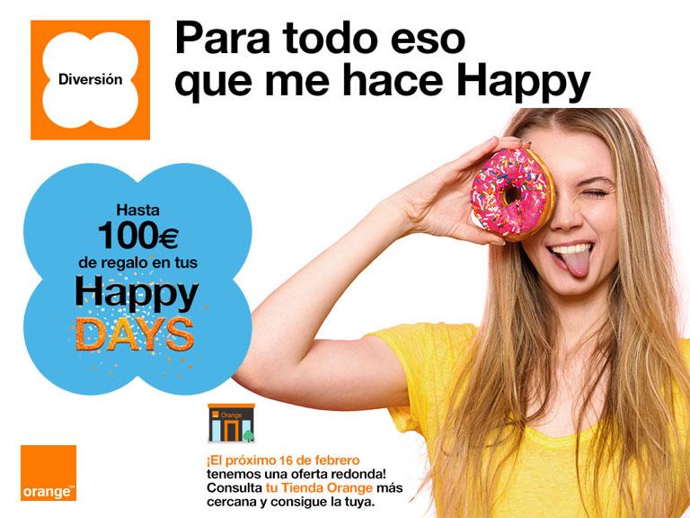 Happy Days en Orange