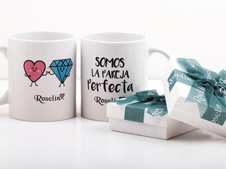Una taza muy romántica por San Valentín