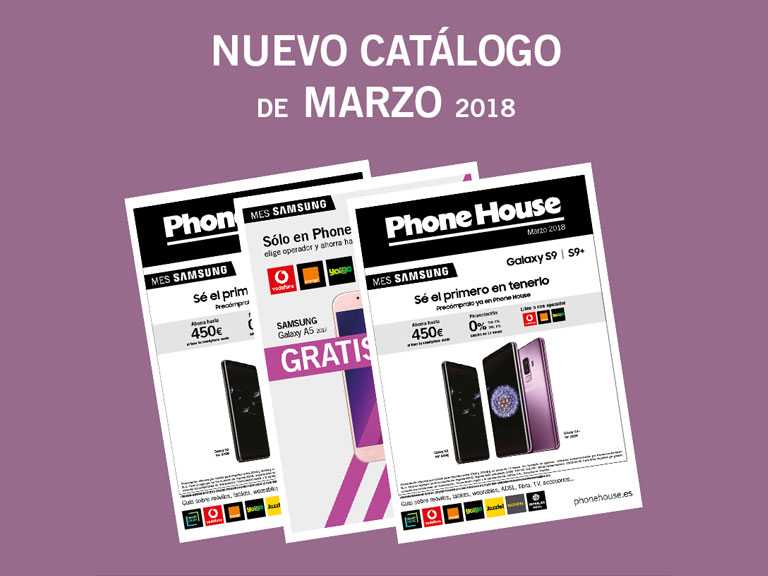 Nuevo catálogo marzo en The Phone House