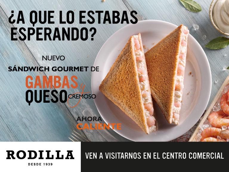 Nuevo sándwich gourmet en Rodilla
