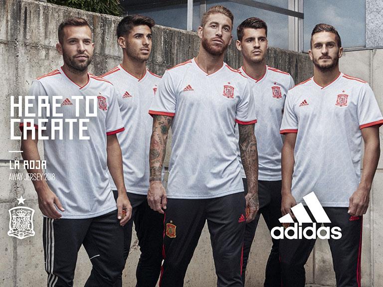 2ª camiseta de la Selección en Adidas