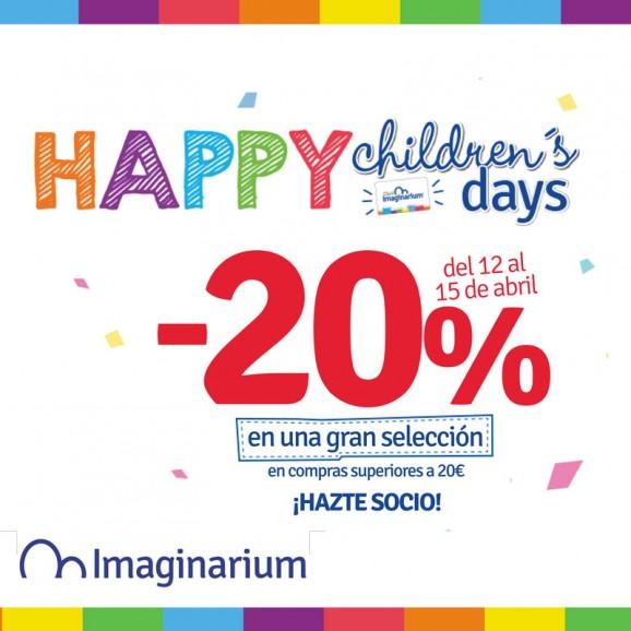 20% de descuento en Imaginarium