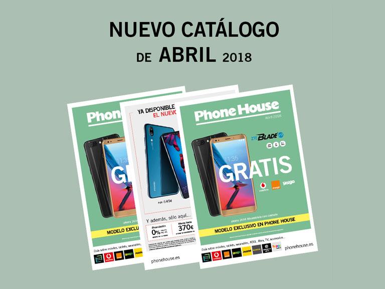Nuevo catálogo de abril en The Phone House