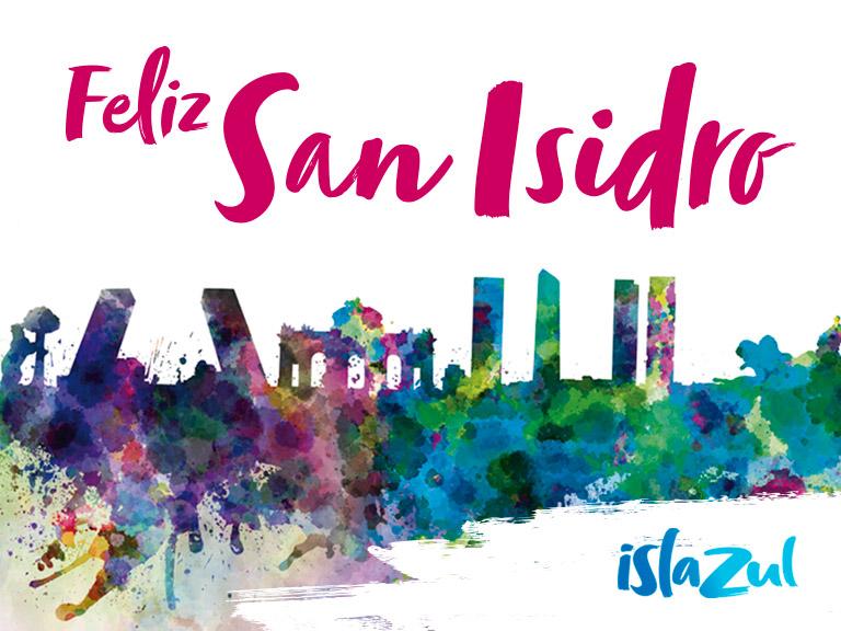 ¡Este año celebramos San Isidro contigo!