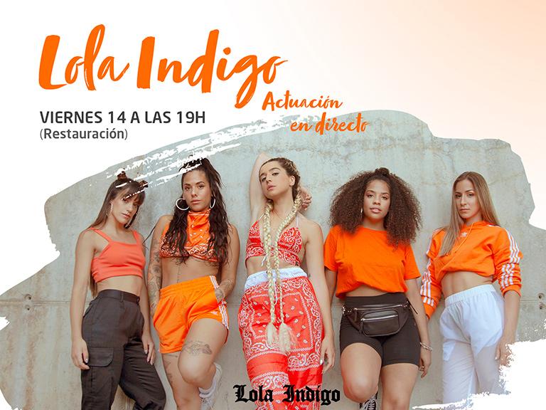 ¡El fenómeno musical Lola Indigo llega al Centro Comercial Islazul!