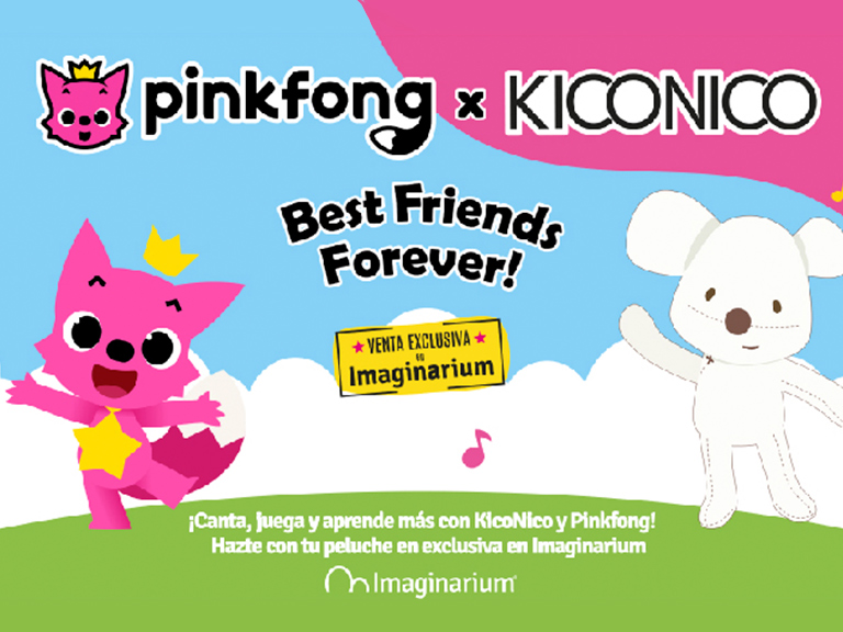 Imaginarium punto de venta oficial de Pinkfong
