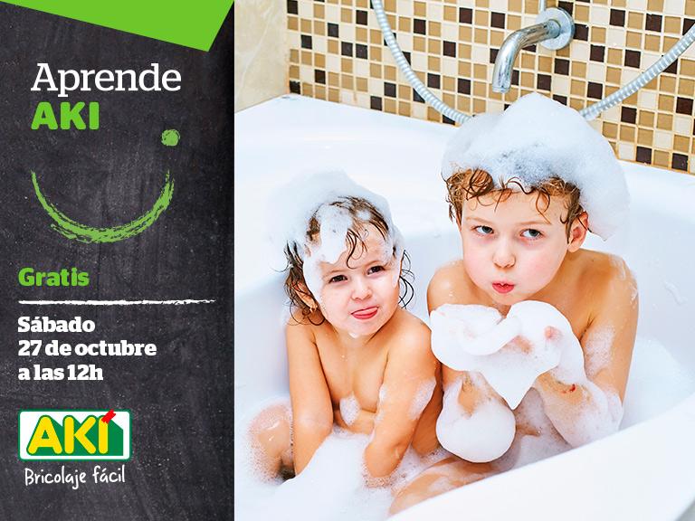 Taller Aki – Cómo hacer tu baño más seguro y cómodo