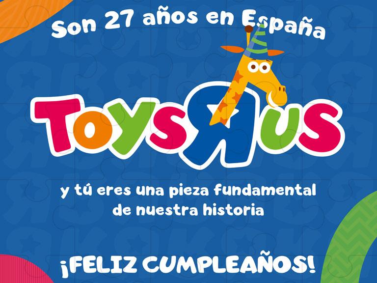 Aniversario de Toys`R Us