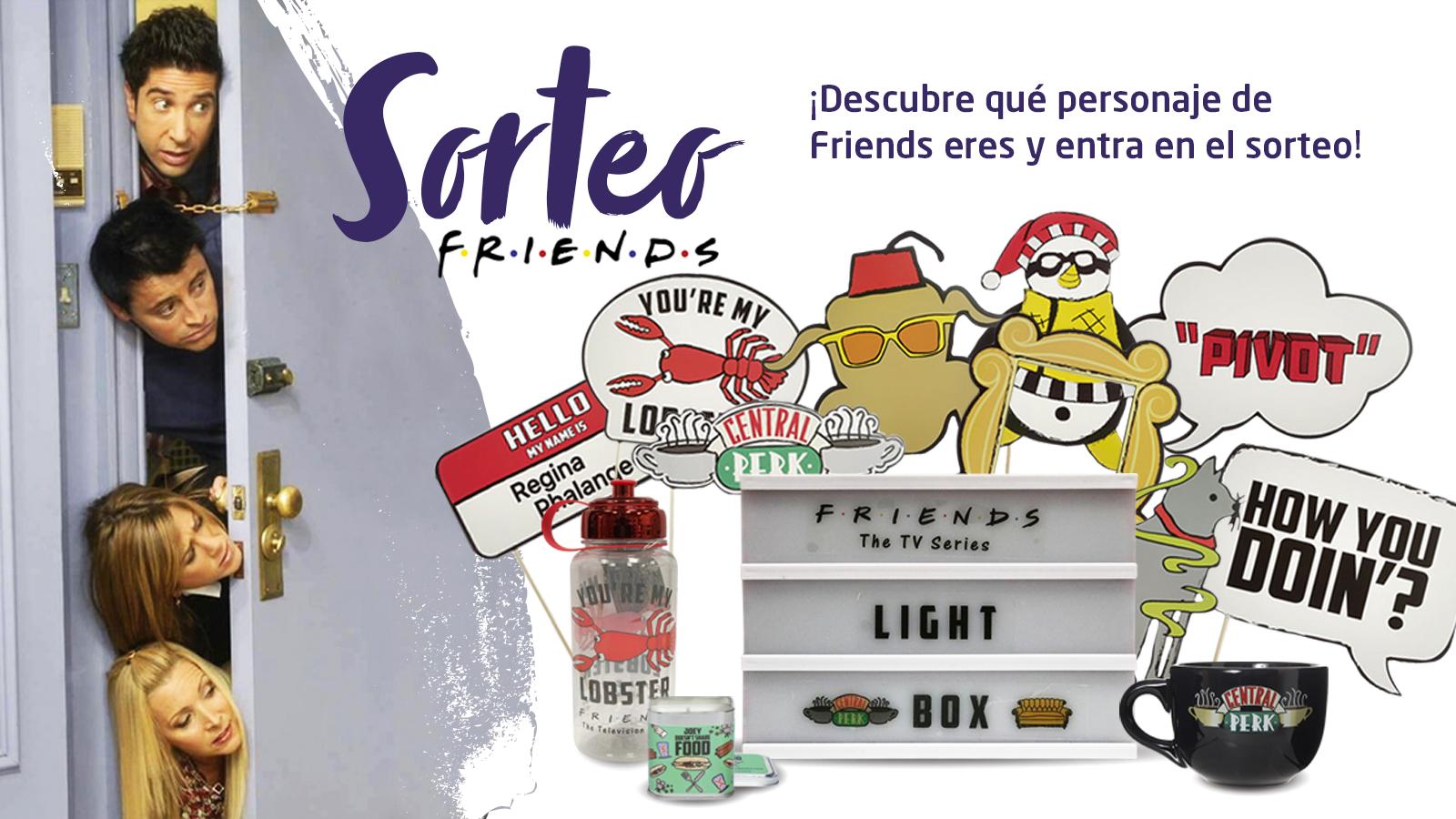 Gana un pack de productos de Friends