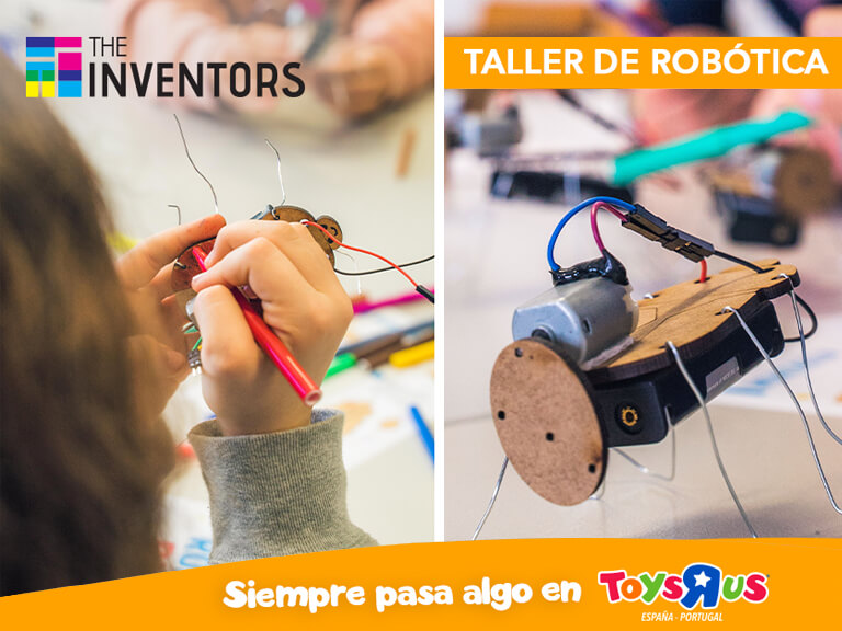 "¡Aprende Robótica en Toys ""R"" Us!"