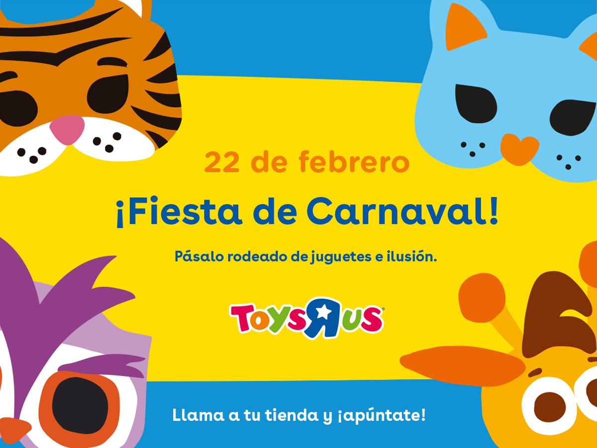 Carnaval en Toys R us