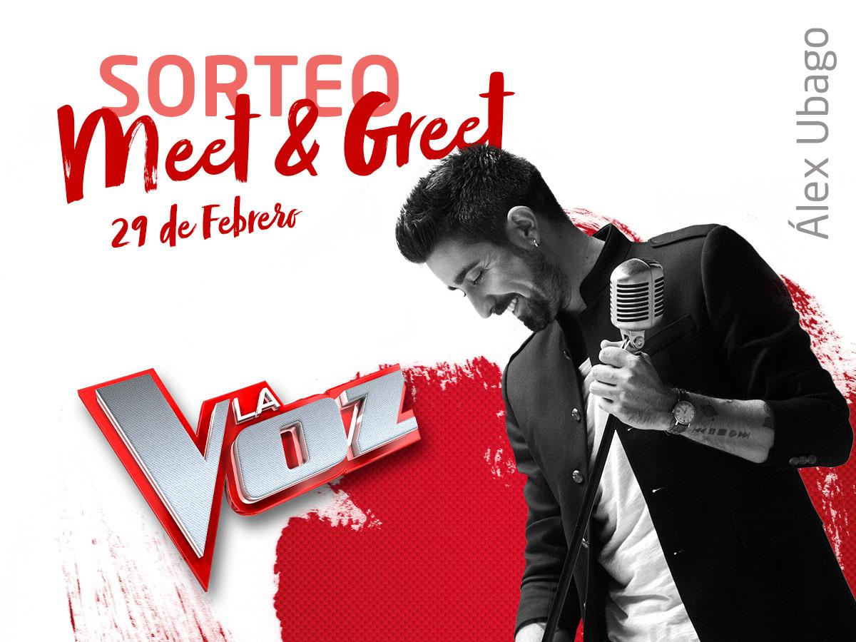 Meet & Greet Álex Ubago