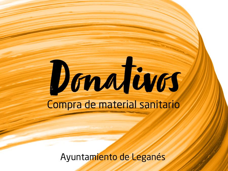 Promociones Donativos compra material sanitario Islazul