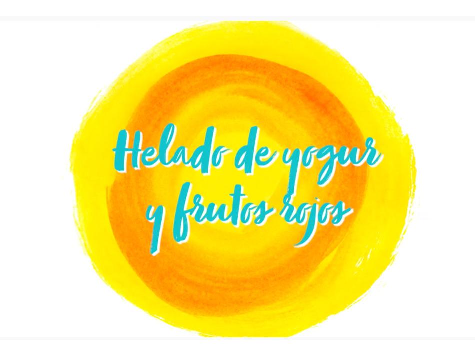Promociones Helado de Yogur y Frutos Rojos Islazul