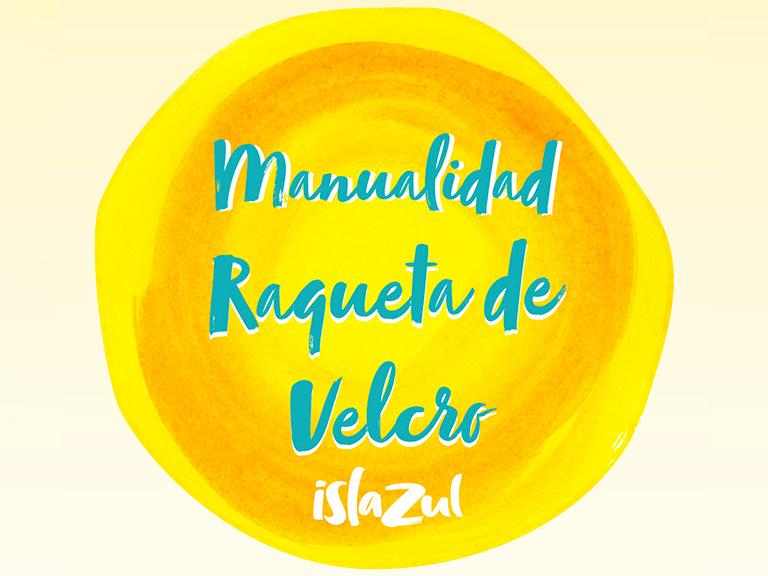 Promociones Raqueta de velcro Islazul