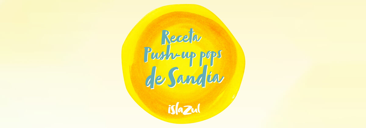 Push Up Pops de Sandía