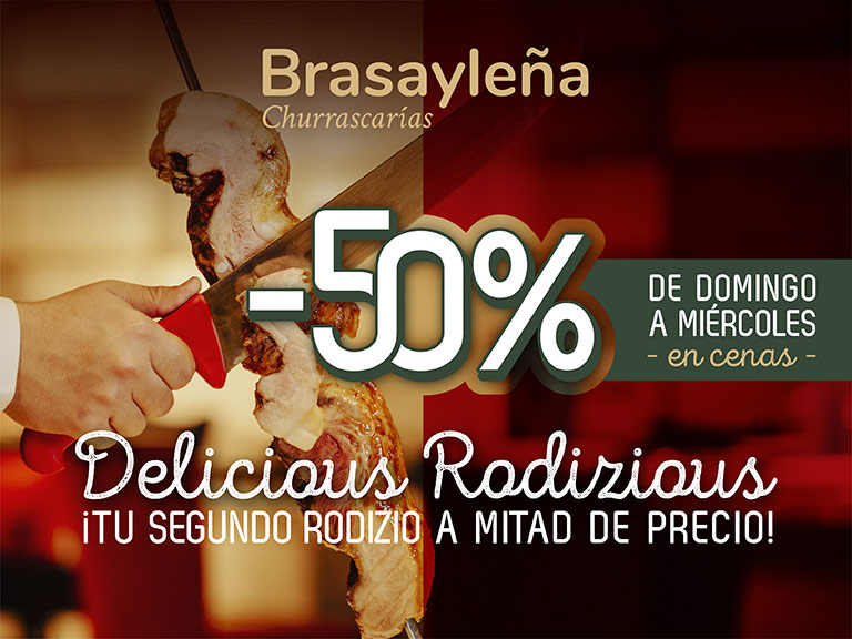 Promociones Brasa y Leña Islazul