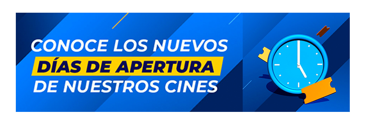 Cines de Lunes a Domingos