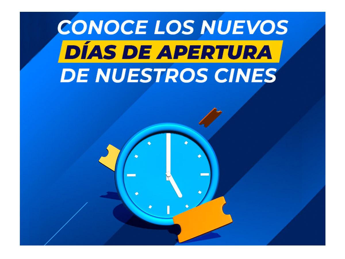 Cines de Lunes a Domingos